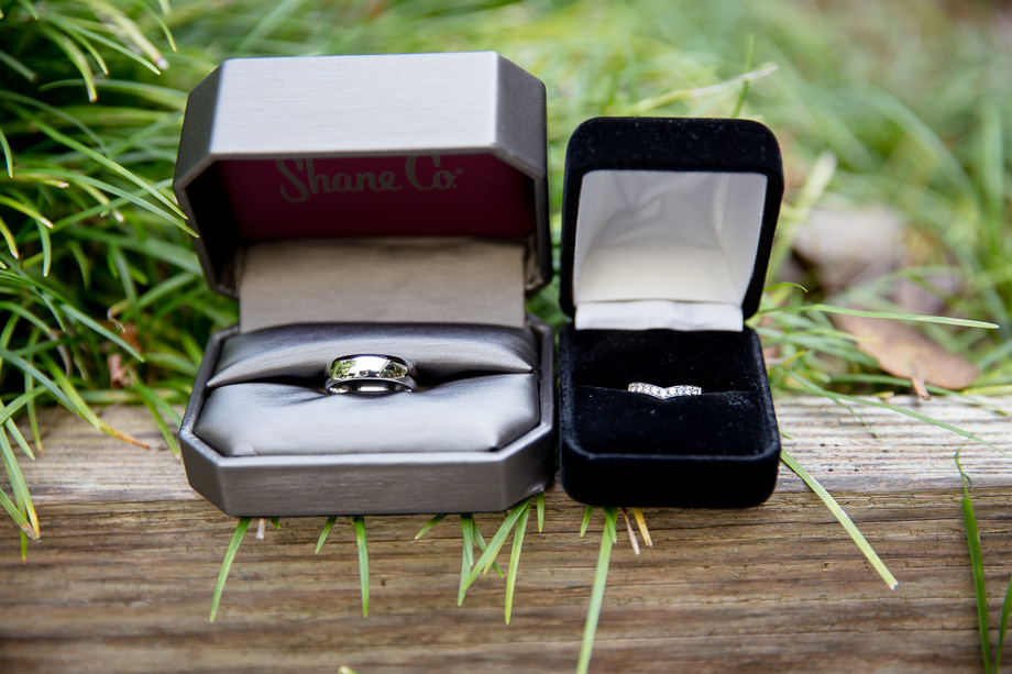 wedding ring set at CuriOdyssey