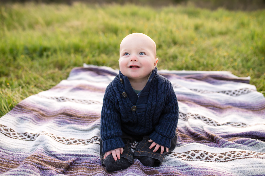 His smile will light up your world - cute baby photo