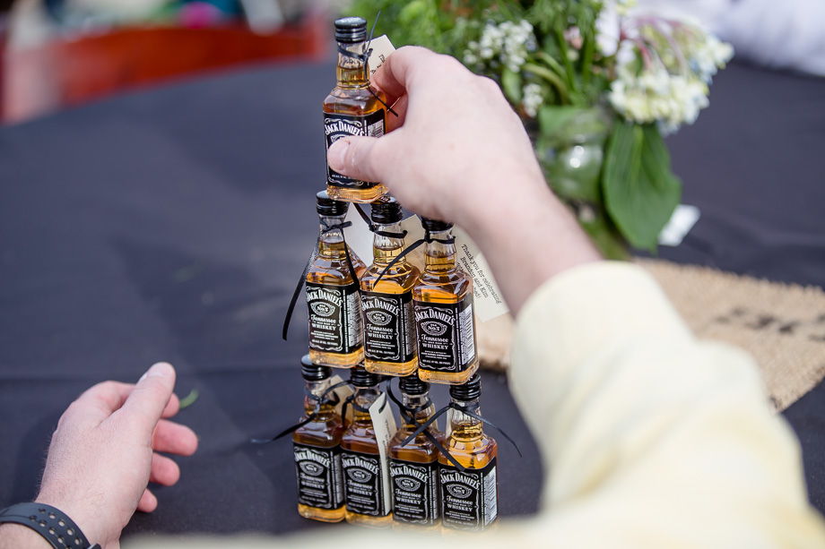 mini jack daniels tower - guest favor