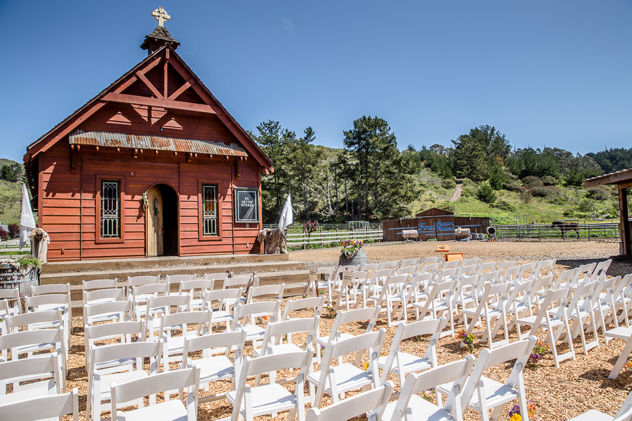 long branch saloon and farms outdoor chapel ceremony site