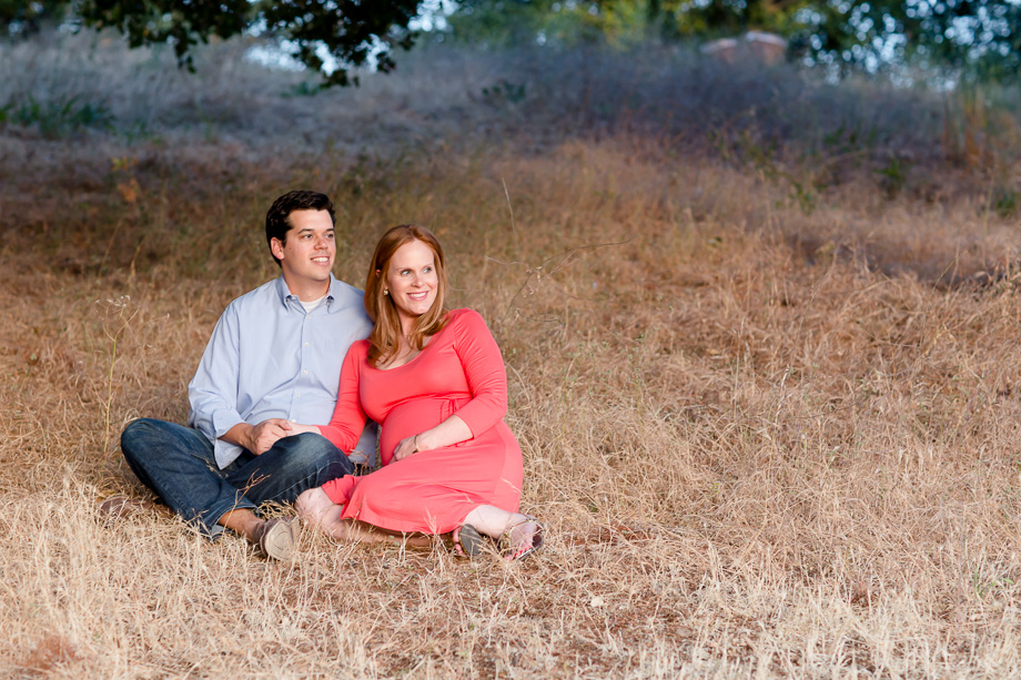 calming moments for the maternity photo session