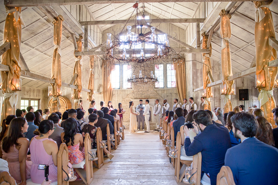 a stunning chapel ceremony with gorgeous natural light - Union Hill Inn chapel