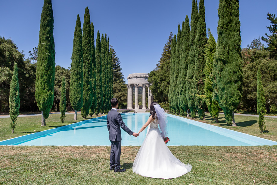 A stunning Pulgas Water temple wedding in Redwood City