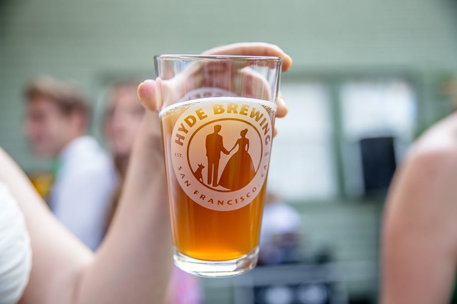 Personalized Pint Gles As Wedding Favors
