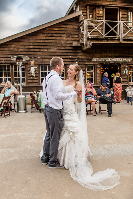 happy first dance - rustic HMB wedding