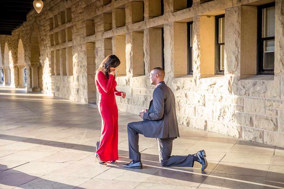 durell karla stanford campus surprise marriage proposal a tale