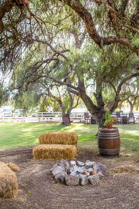coyote ranch has a cozy setting perfect for weddings
