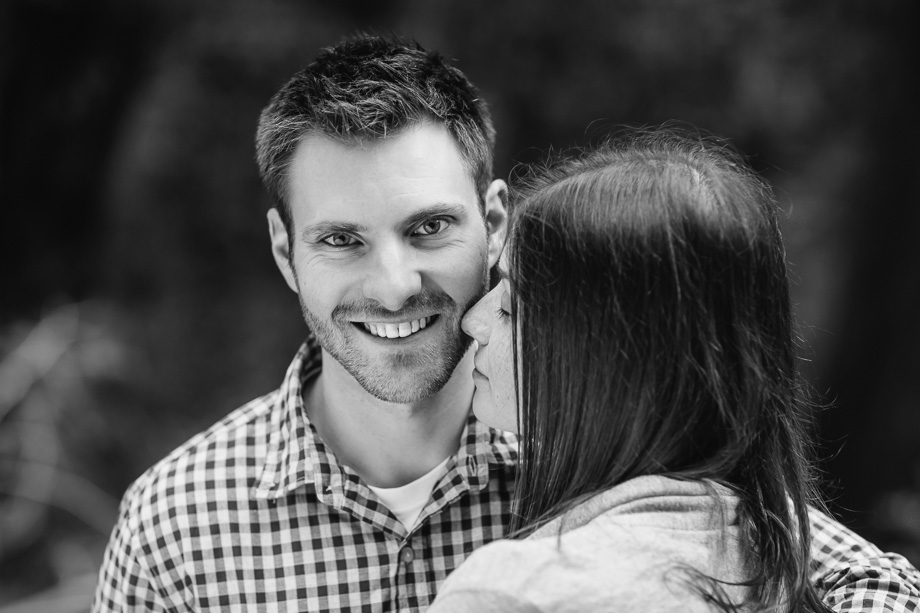 groom-to-be looking sharp in engagement photograph