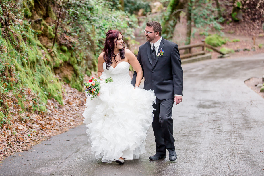 Uvas Canyon Park couple photos