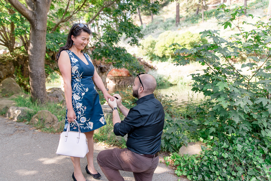 photo of Rudy proposing to Zoey
