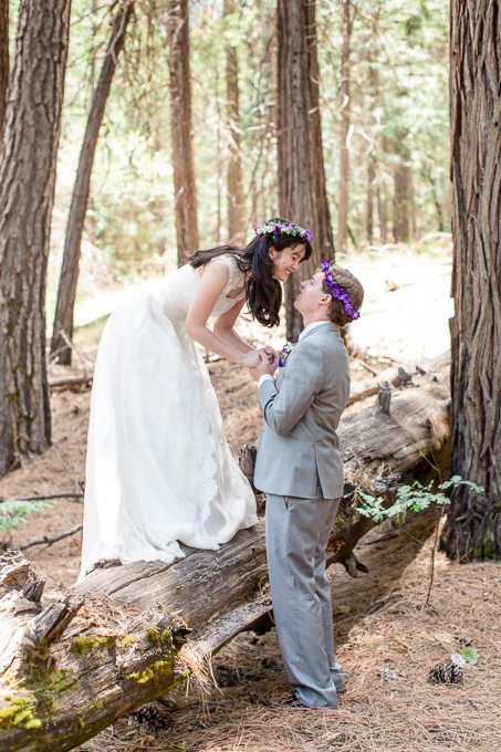 Yosemite Cathedral Beach wedding