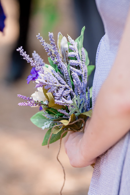Purple wedding at Yosemite National Park