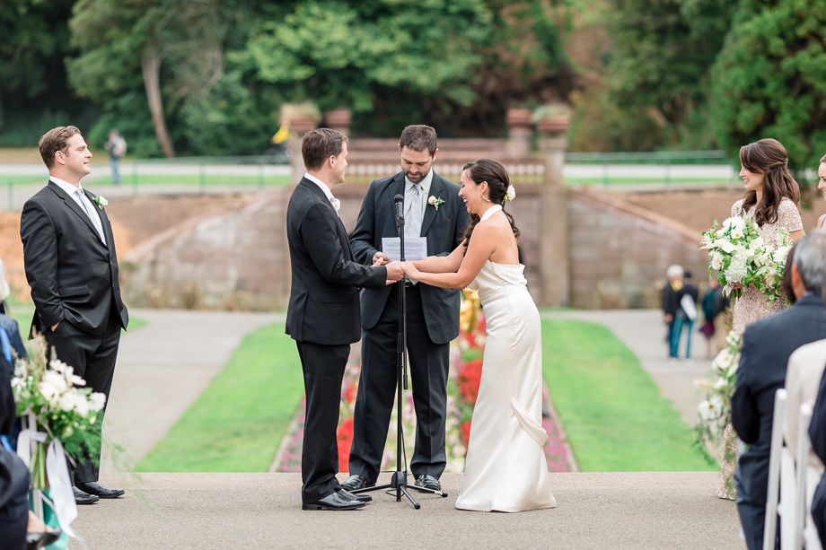 san francisco outdoor ceremony at golden gate park