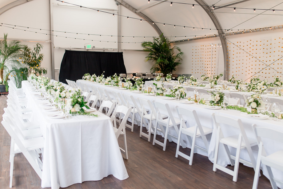 conservatory of flowers wedding reception hall