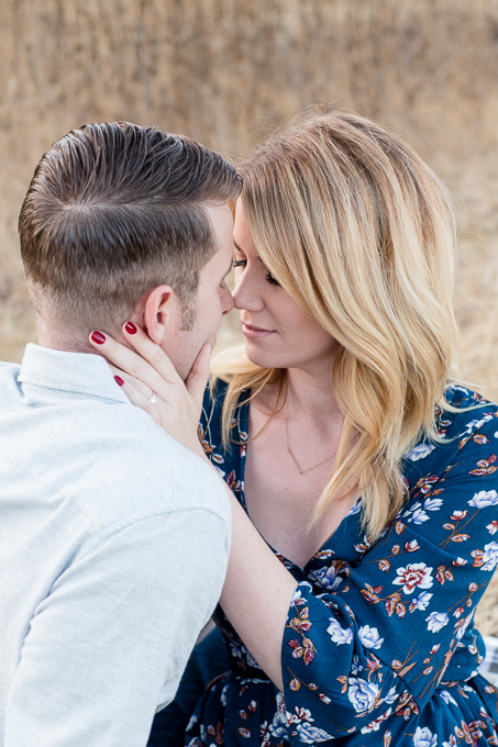 san francisco engagement photography - romantic photo for this gorgeous couple