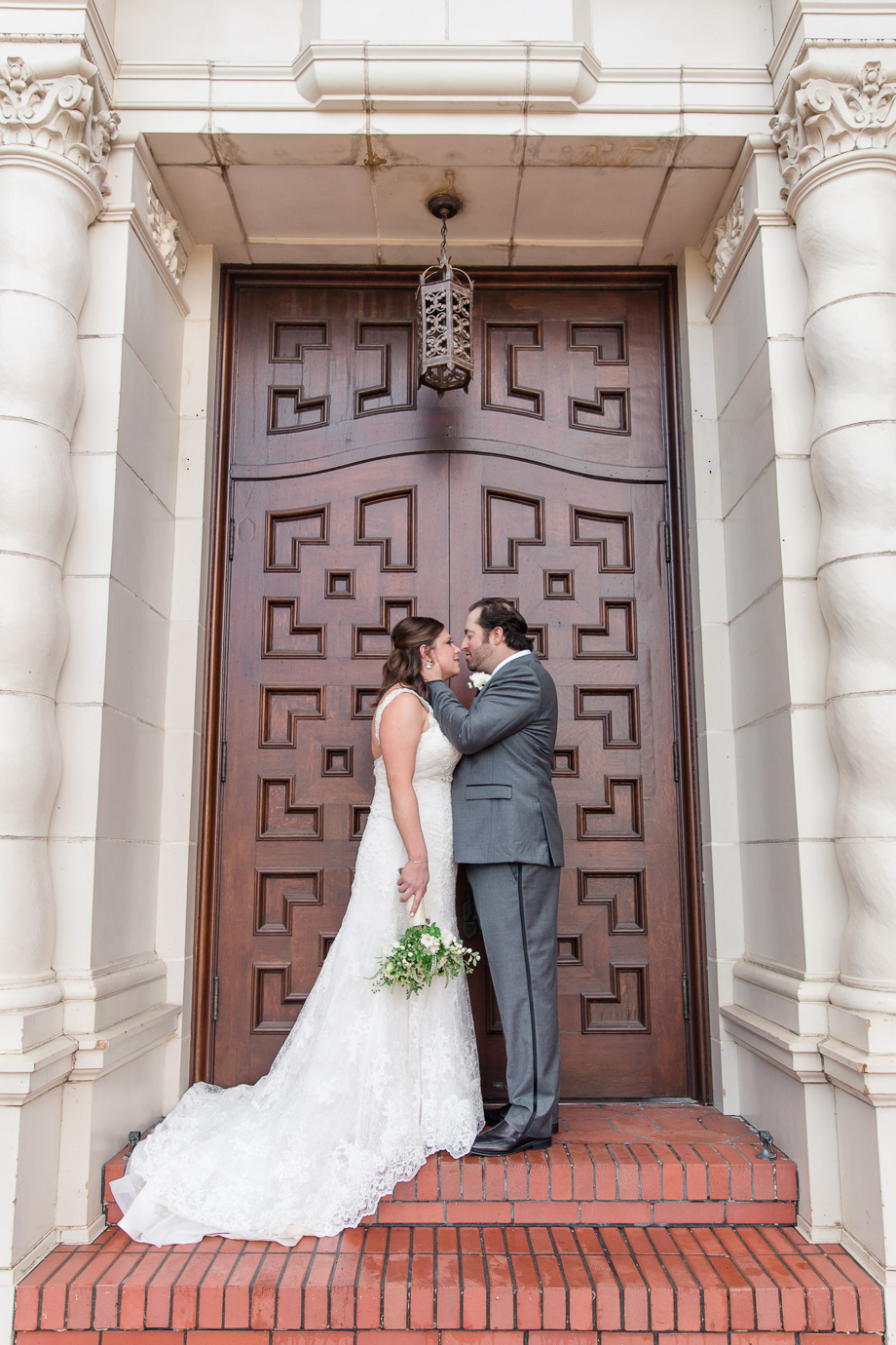 San Francisco Presidio Chapel wedding