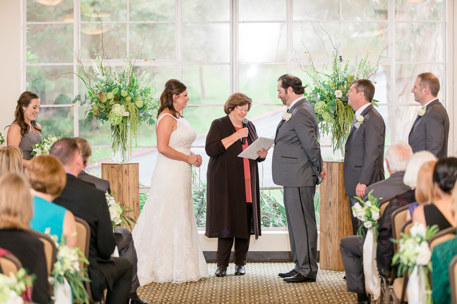 Golden Gate Club wedding ceremony