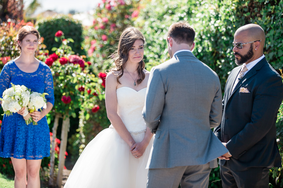 bride cried to grooms vows