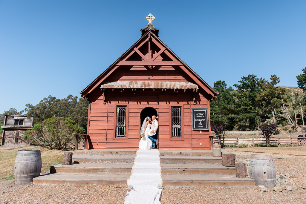 the little chapel that they got married at