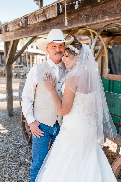 rustic farm western themed elopement