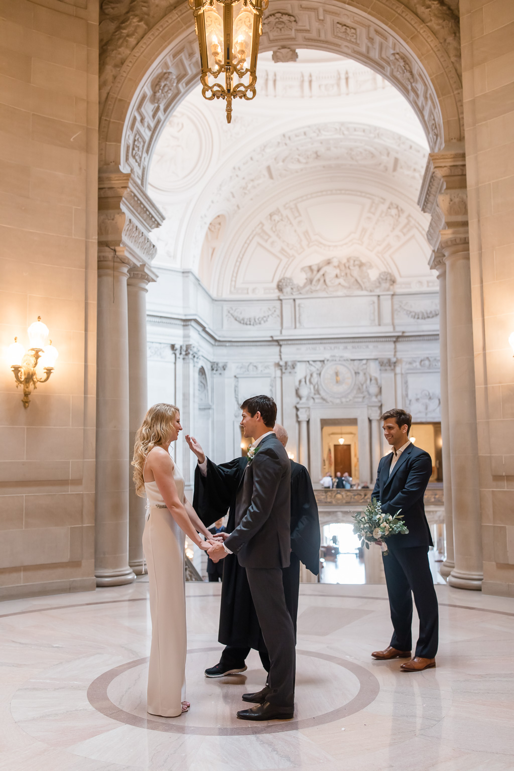 got married at the most beautiful city hall