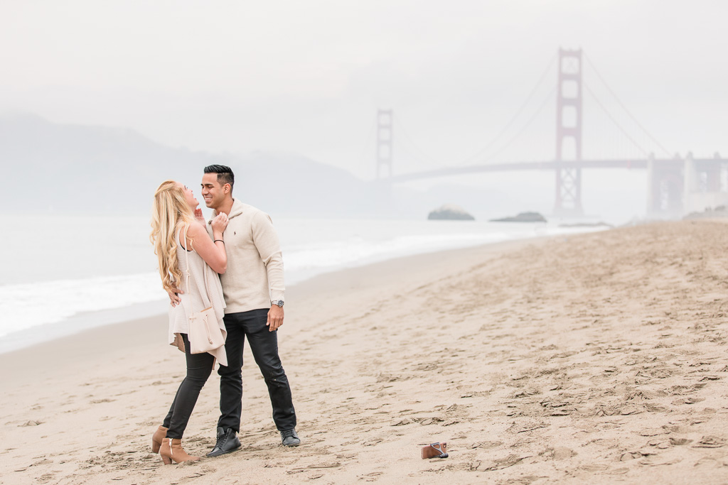 he filmed their san francisco engagement using his iphone