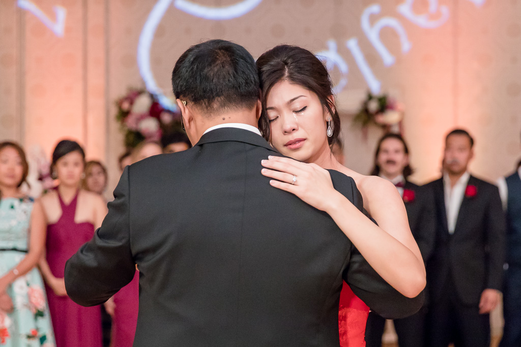bride got really emotional when dancing with her father - bay area wedding photographer