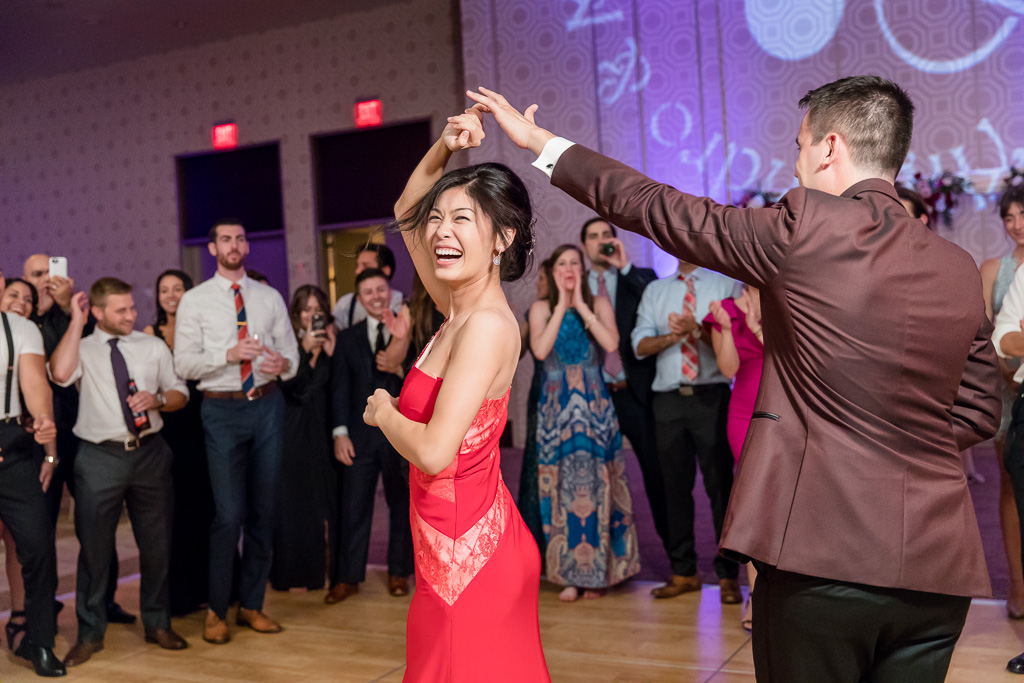 when your bride and groom know how to dance - san francisco wedding photographer