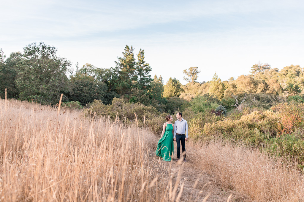 Sonoma county outdoor engagement photo