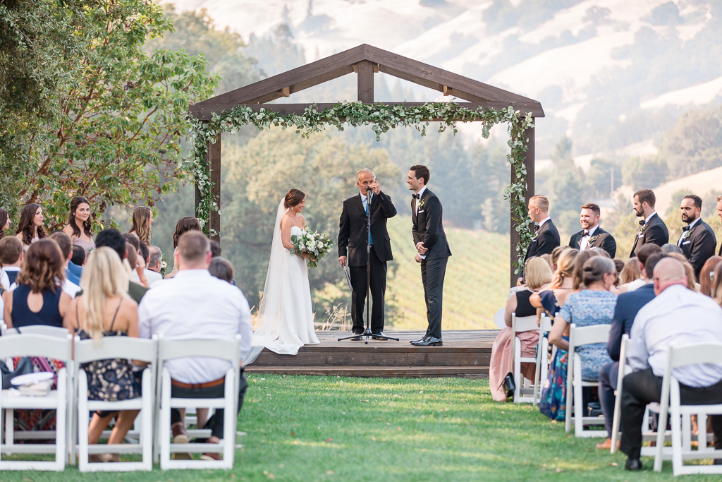 Cloverdale outdoor ceremony site