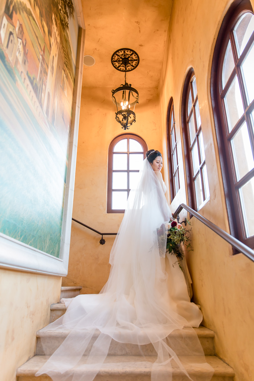 regale winery and vineyards wedding bridal portrait