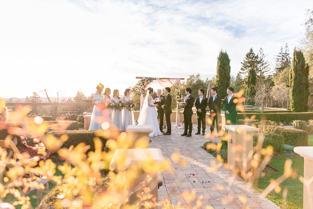 regale winery outdoor ceremony