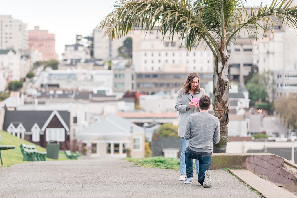 Pacific Heights surprise marriage proposal