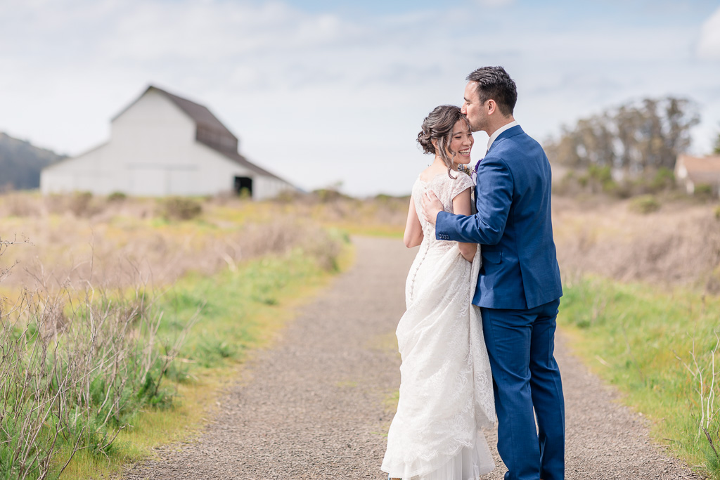 romantic Point Reyes wedding