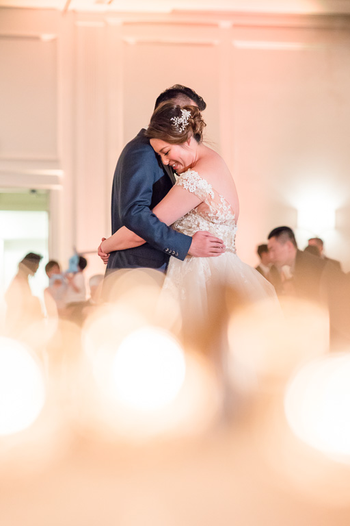 newlywed first dance at Silverado Resort & Spa