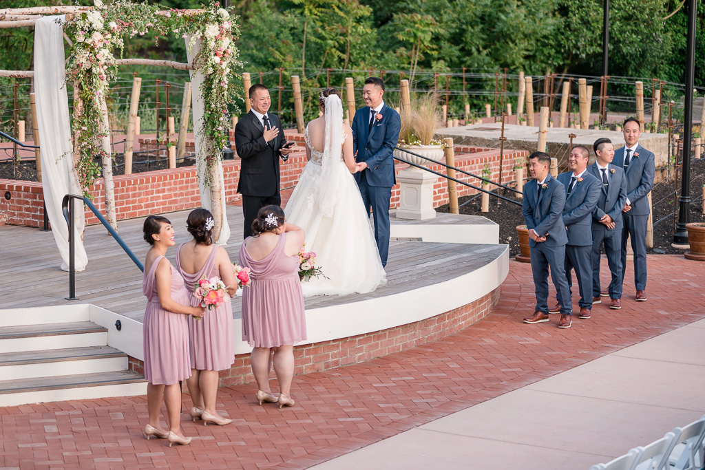 Silverado Resort & Spa wedding ceremony