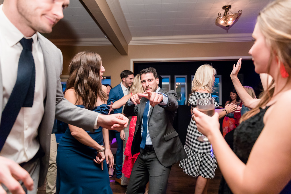 awesome wedding reception dance party