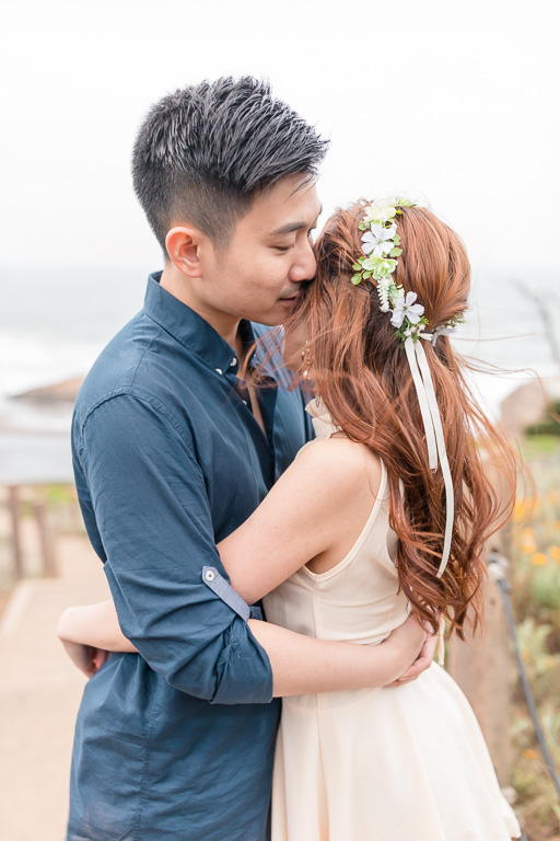 beautiful and intimate engagement picture in San Francisco