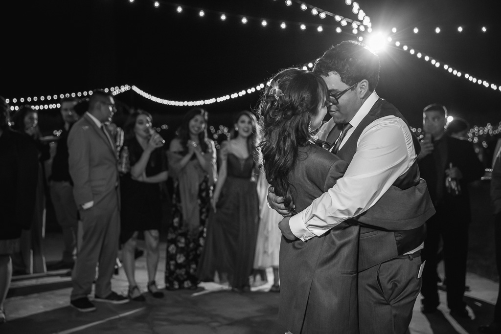 a kiss for the last dance of the night