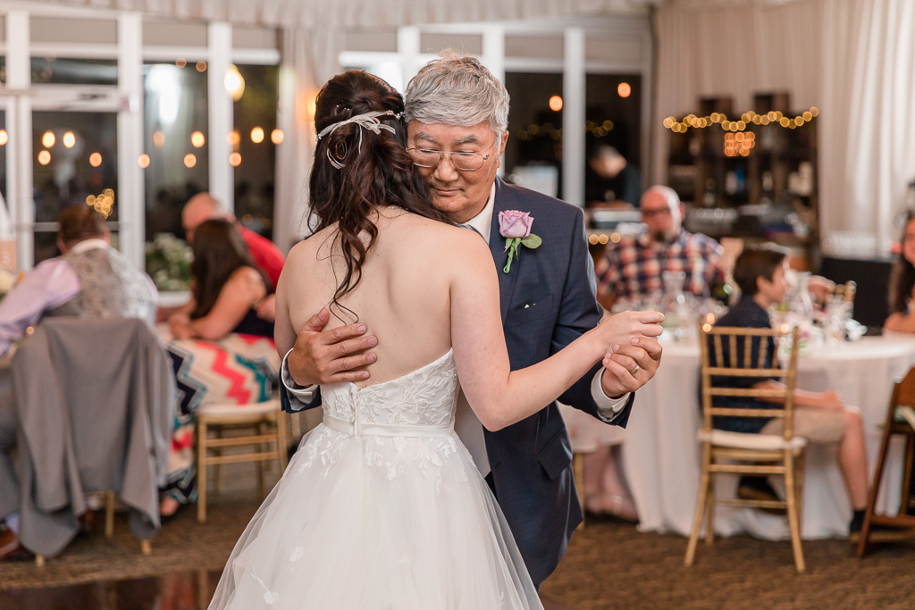 an emotional father daughter dance