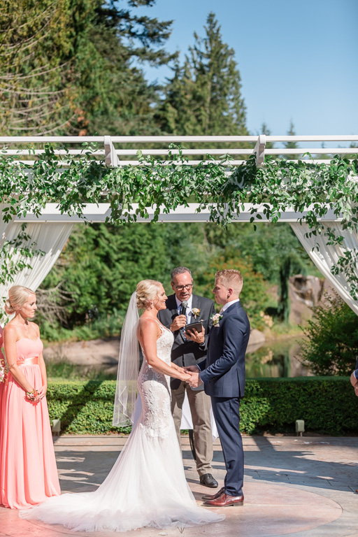 Seattle elegant garden wedding