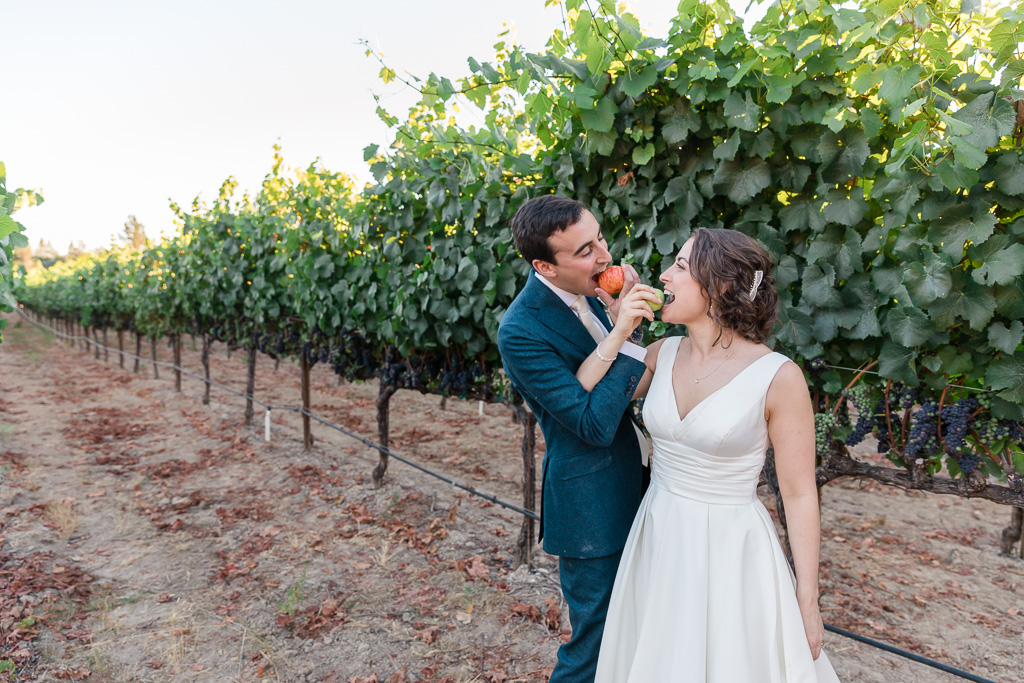 Vine Hill House wedding in Sebastopol
