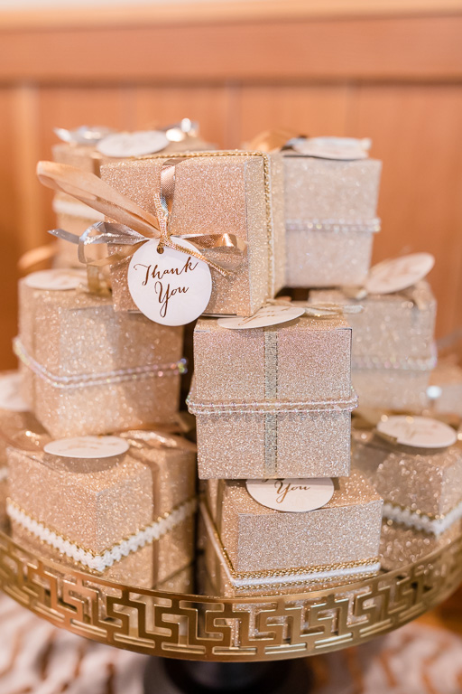 sparkly guest favors