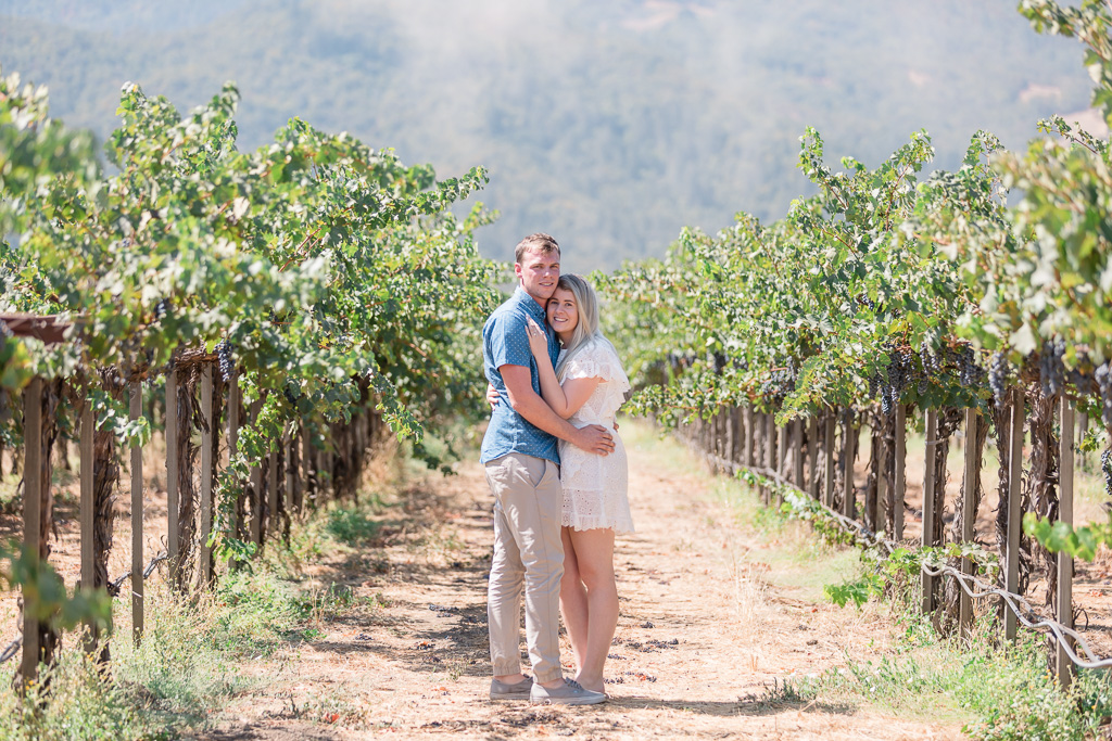 Napa Peju Province Winery is a perfect spot for a surprise proposal