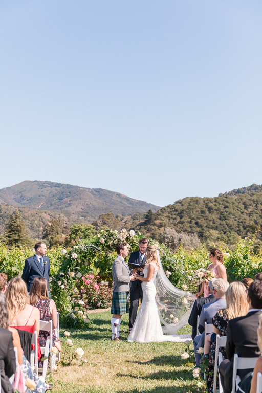 a perfect summer wedding in Carmel-by-the-Sea