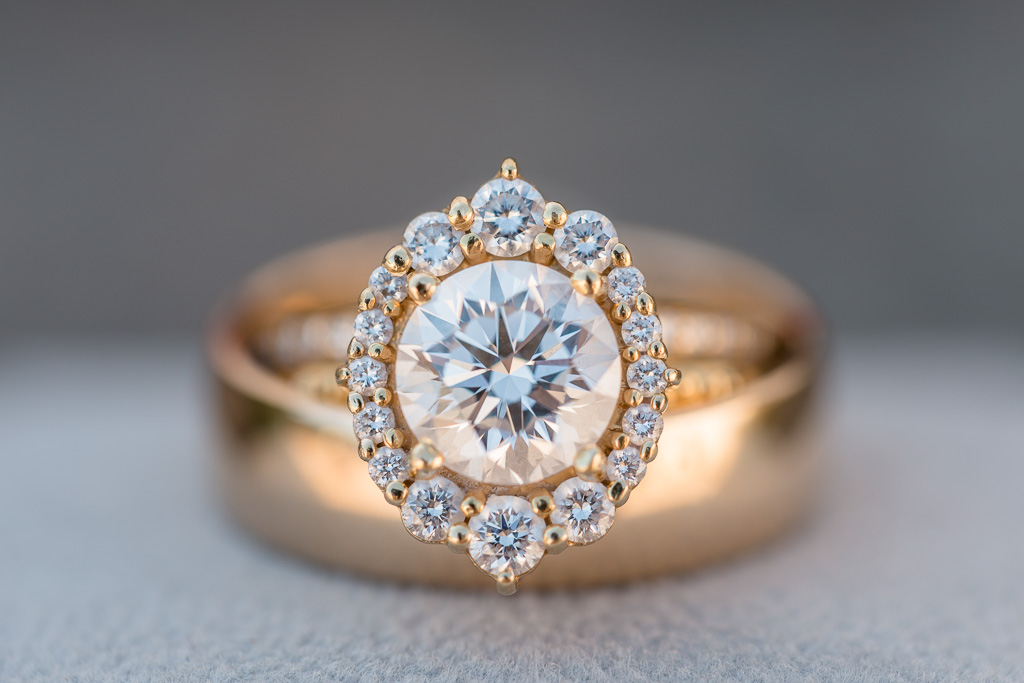 absolutely the most stunning diamond engagement ring