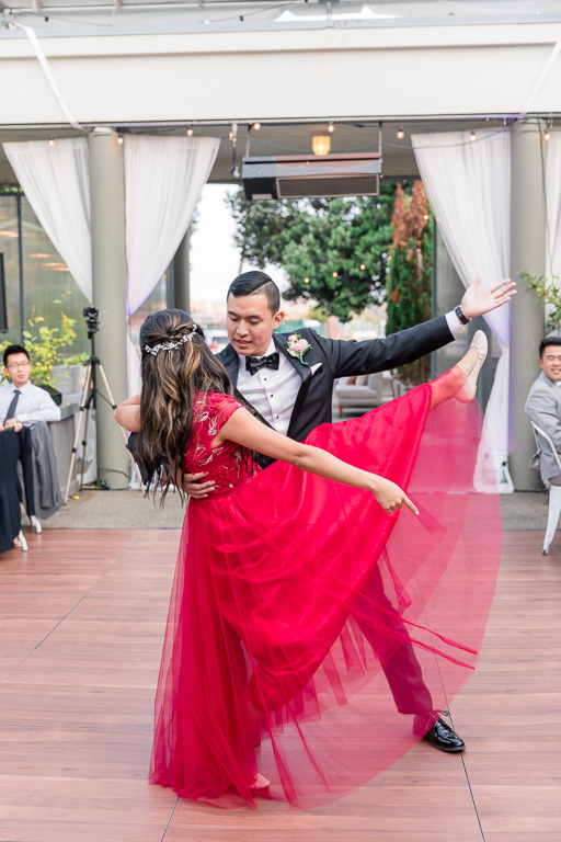 beautifully choreographed first dance