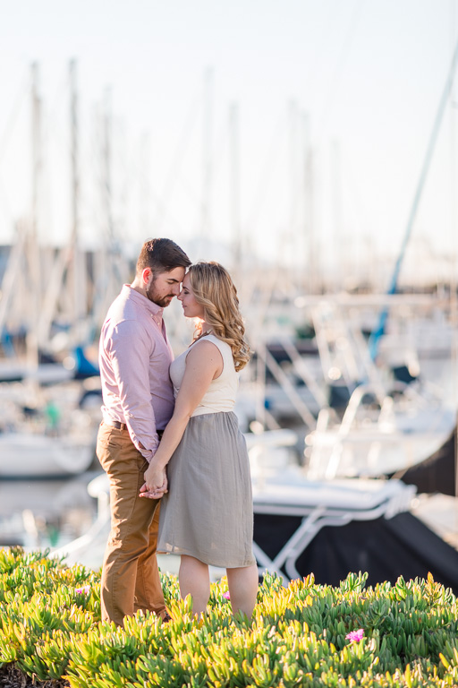 Alameda Grand Marina engagement photo
