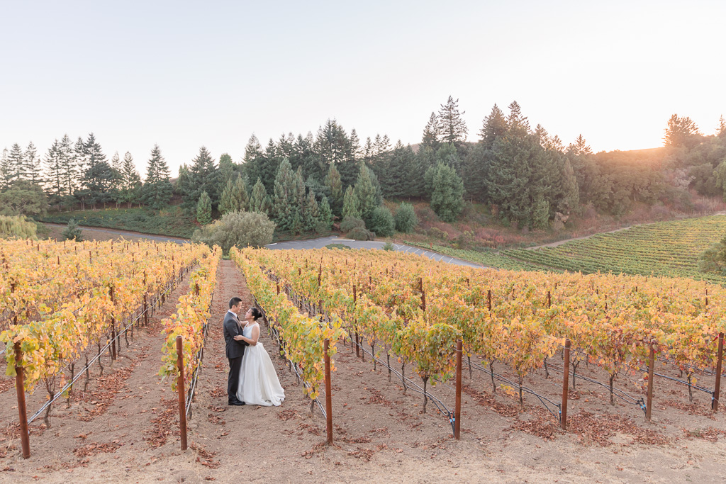 best winery for Bay Area weddings