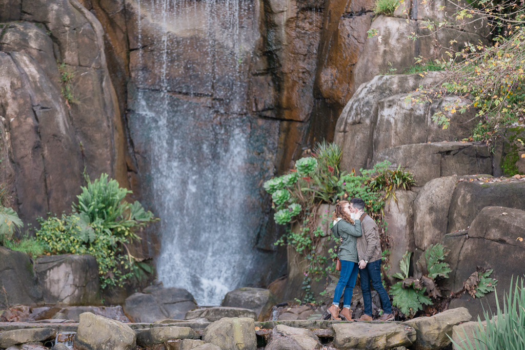 Huntington Falls surprise proposal